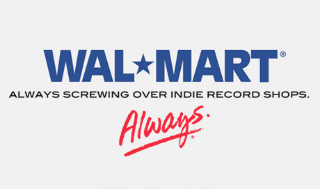 Wal-Mart Looking To Lower CD Prices, Put Final Nail in Indie Record Shops' Coffins