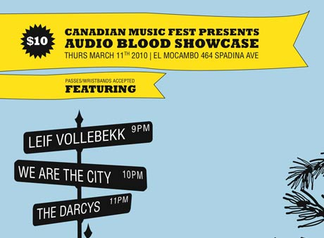 Leif Vollebekk, Clothes Make the Man and We Are the City Team Up for Audio Blood's CMW Showcase