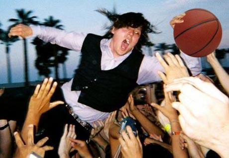 Arcade Fire's Win Butler Steals Basketball From Innocent Blogger!?!