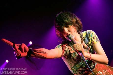 Yeah Yeah Yeahs Kool Haus, Toronto, ON August 5