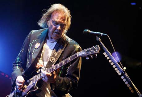 "Neil Young ""Who's Gonna Stand Up?"" (live)"