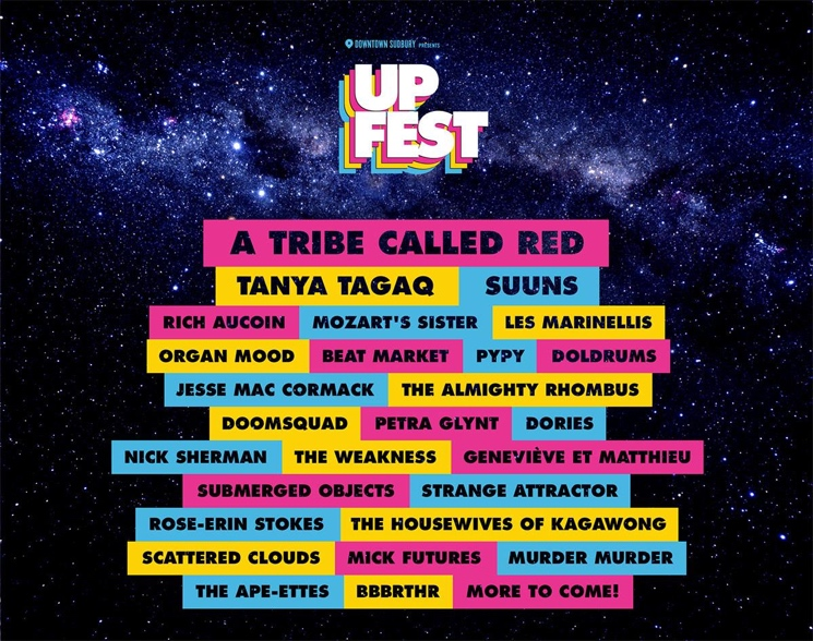 Sudbury's Up Fest Announces Lineup