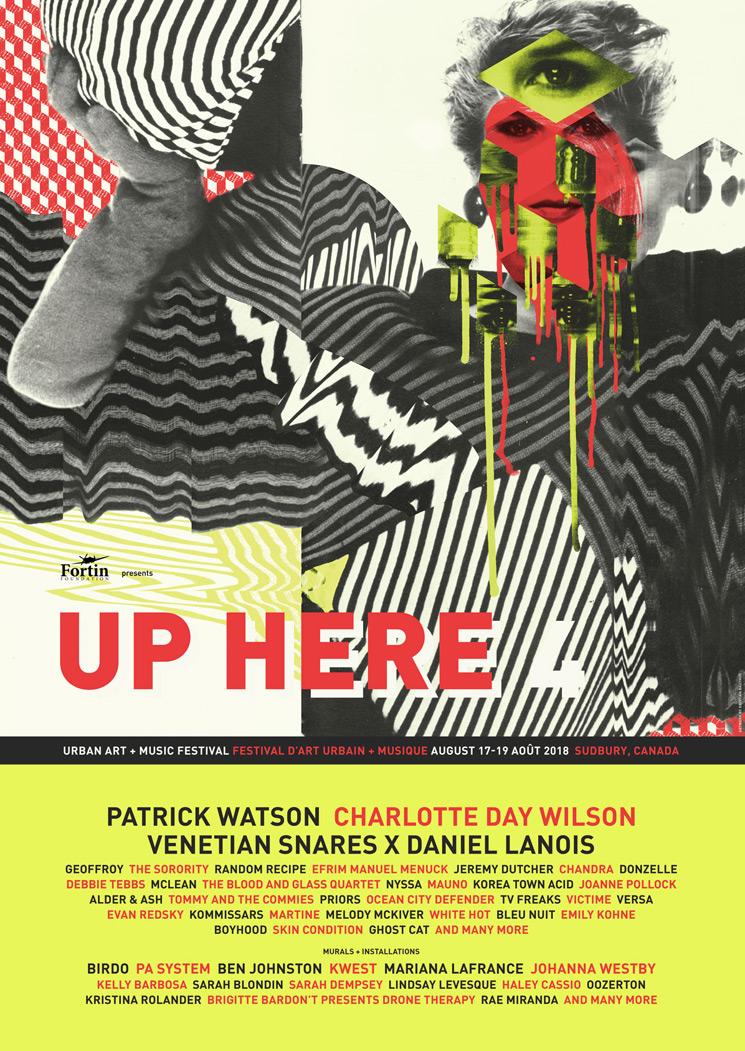 Sudbury's Up Here Festival Gets Venetian Snares & Daniel Lanois, Patrick Watson, Charlotte Day Wilson