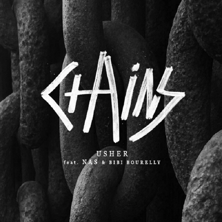 "Usher ""Chains"" (ft. Nas & Bibi Bourelly) (video)"