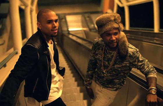 Usher 'All Falls Down' (ft. Chris Brown)