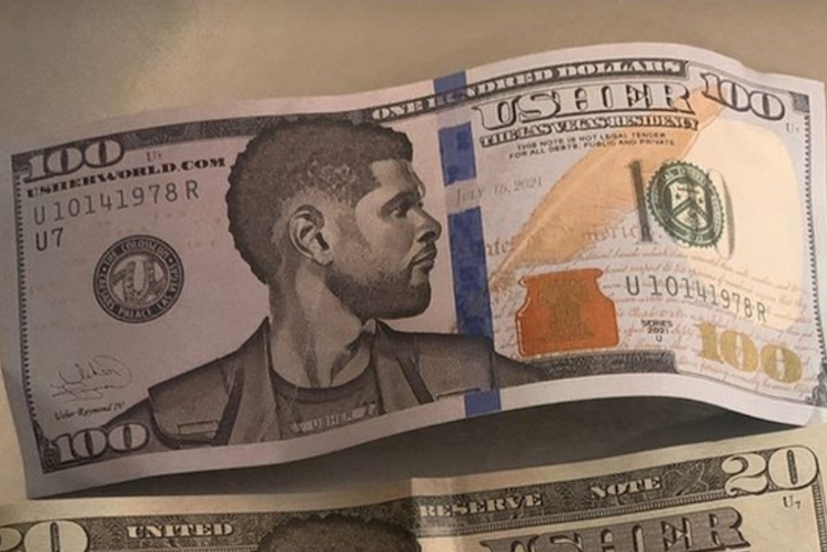 Usher Accused of Paying Strippers Using Fake 'UsherBucks'