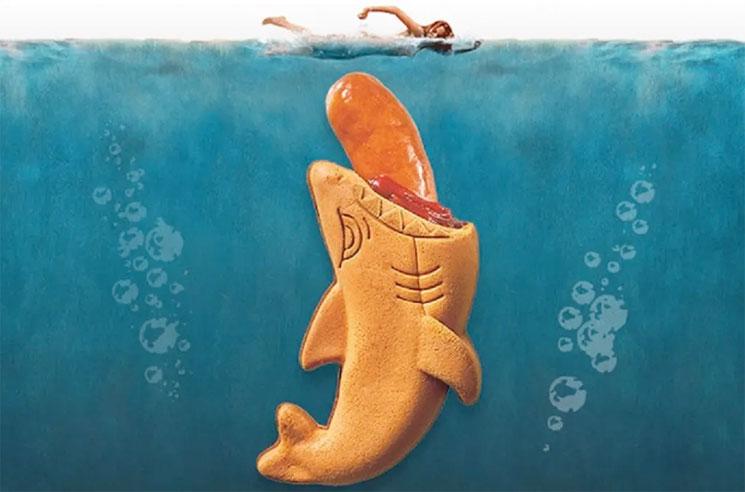 This 'Jaws' Hotdog Monstrosity by Universal Studios Japan Is Next-Level Gross