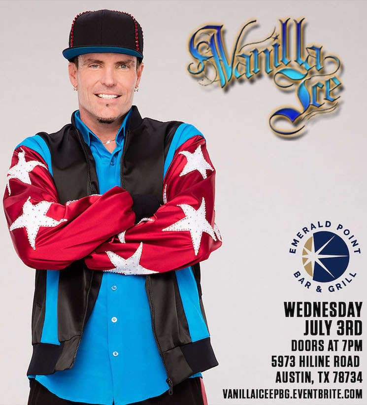 Vanilla Ice Only Sold 284 Tickets to His COVID-19 Concert in Austin