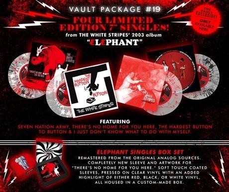The White Stripes Reissue 'Elephant'-Era Singles Via New Subscription Package