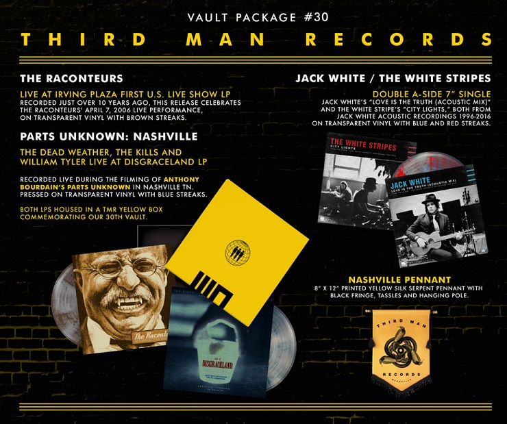 Jack White Collects Live Material from Raconteurs, Dead Weather, the Kills for Latest Vault Release