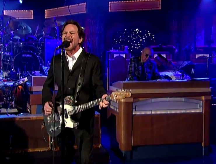 Eddie Vedder 'Better Man' (live on 'Letterman')