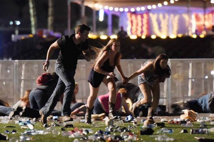 ​At Least 59 Dead and over 500 Injured in Las Vegas Concert Shooting