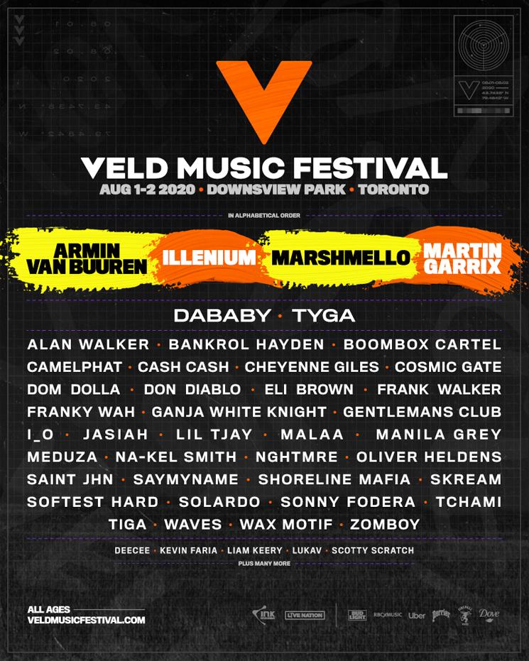 Veld Music Festival Unveils 2020 Lineup with  Armin Van Buuren, Marshmello, Illenium
