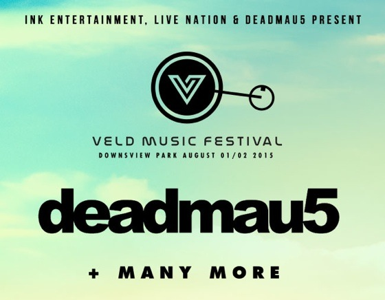 Deadmau5 to Headline 2015 VELD Music Festival