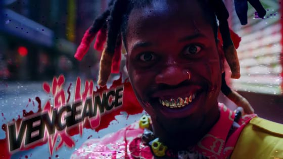 "Watch Denzel Curry's Grisly ""Vengeance"" Video"