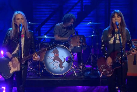 "Veruca Salt ""Seether"" (live on 'Conan')"