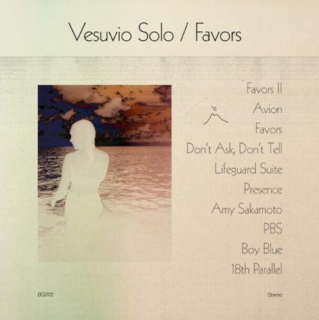 Vesuvio Solo 'Favors' (album stream)