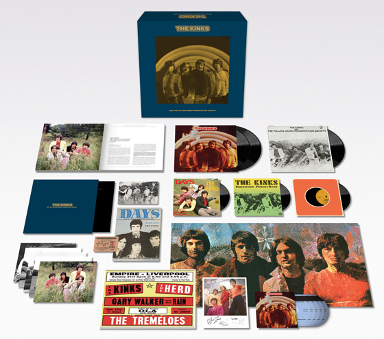 The Kinks Treat 'Village Green Preservation Society' to 50th Anniversary Box Set