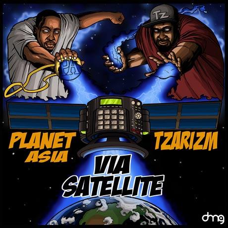 Planet Asia & TzariZM Via Satellite