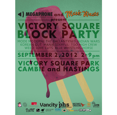 Vancouver's Victory Square Block Party Brings Out the Ballantynes, Weed, Mode Moderne, Too High Crew