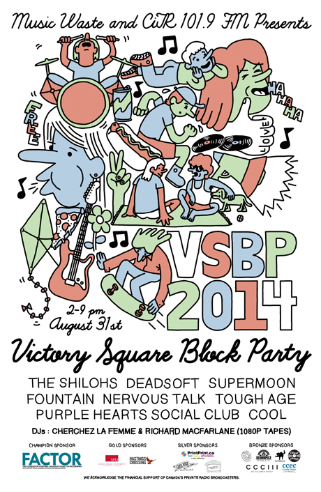 Vancouver's Victory Square Block Party Celebrates 10th Anniversary with the Shilohs, Cool, Tough Age