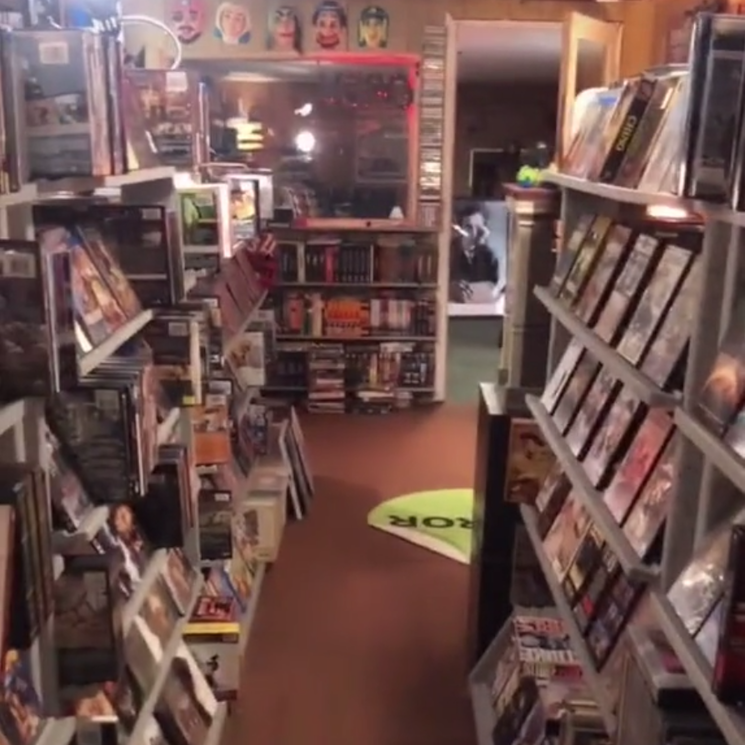 This Family Built a Full-Sized Video Rental Store in Their Basement