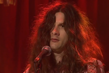 """Kurt Vile """"Albuquerque"""" (Neil Young cover) / """"Snowflakes Are Dancing"""" (live on 'RocKwiz')"""