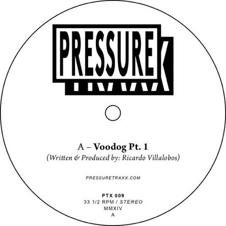 "Ricardo Villalobos ""Voodog Pt. 1"" / ""Voodog Pt. 2"" (12-inch preview)"