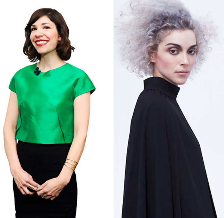 St. Vincent Says She's Written Songs with Carrie Brownstein