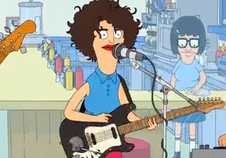 "St. Vincent ""Bad Girls"" ('Bob's Burgers' cover)"