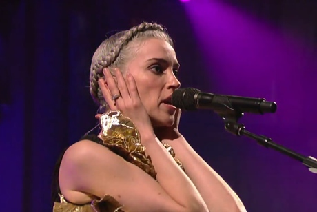 St. Vincent 'Live on Letterman'