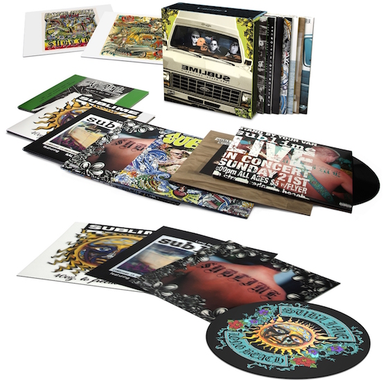 Sublime Treated to Massive Vinyl Box Set