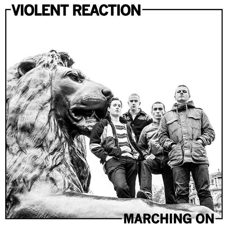 Violent Reaction 'Marching On' (album sampler)