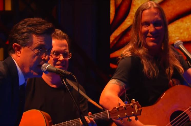 "Violent Femmes Return to TV to Do ""Memory"" and ""Blister in the Sun"" on 'Colbert'"