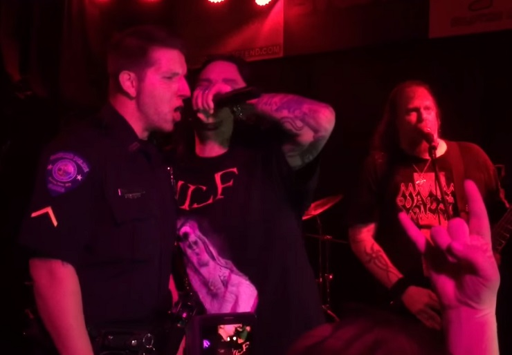 Florida Cop Fired for Singing with Metal Band Vital Remains in Uniform