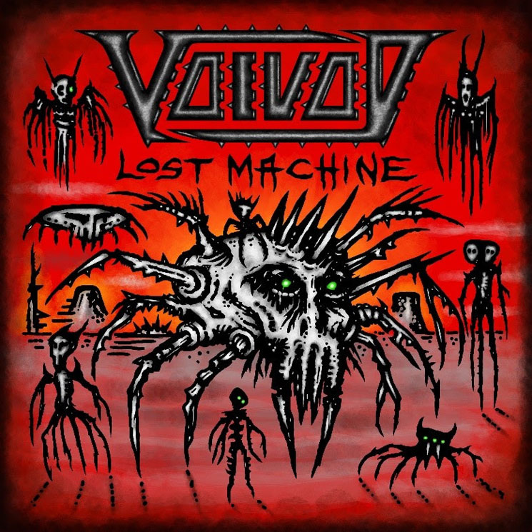 Voivod Reveal 'Lost Machine' Live Album