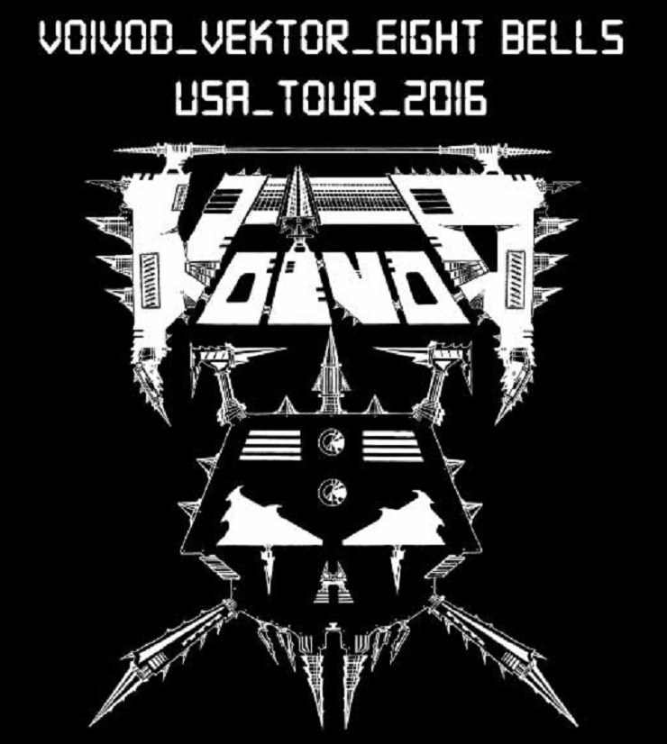 Voivod Unveil North American Tour