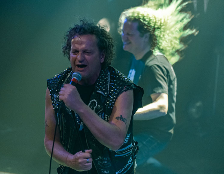 Voivod / René Lussier and Robbie Kuster Montreal International Jazz Festival, Montreal QC, July 30