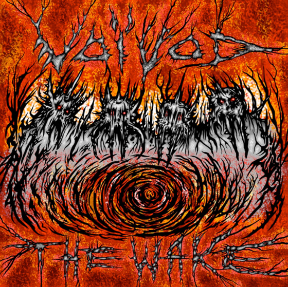 Voivod Detail 'The Wake' Album