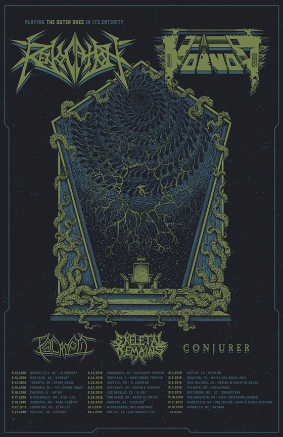 Voivod and Revocation to Play Canada on North American Tour