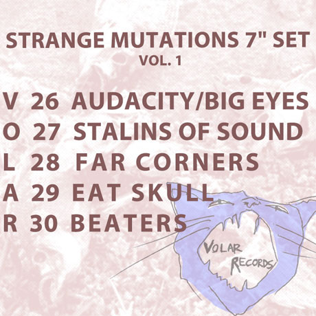Volar Records Gets Eat Skull, Audacity, Far Corners for 7-Inch Series