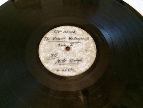 Rare Velvet Underground Acetate Headed Back to Auction