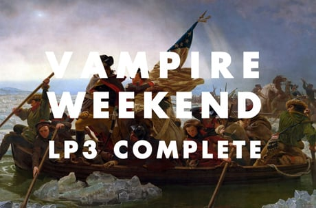 Vampire Weekend Complete Third Album, Announce Release Date