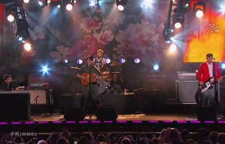 "Vampire Weekend ""Unbelievers"" / ""Hannah Hunt"" (live on 'Kimmel')"