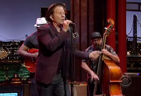 "Tom Waits ""Chicago"" (live on 'Letterman')"