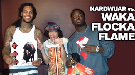 Nardwuar the Human Serviette vs. Waka Flocka Flame