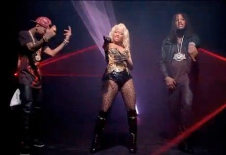 Waka Flocka Flame 'Get Low' (ft. Nicki Minaj and Tyga) (video)