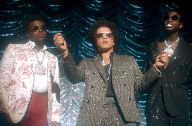 "Gucci Mane, Bruno Mars and Kodak Black Share Video for ""Wake Up in the Sky"""