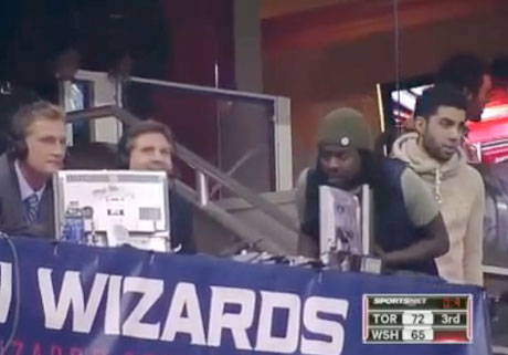 Beefs 2013: Wale Confronts Raptors Announcer at Basketball Game over Alleged On-Air Diss