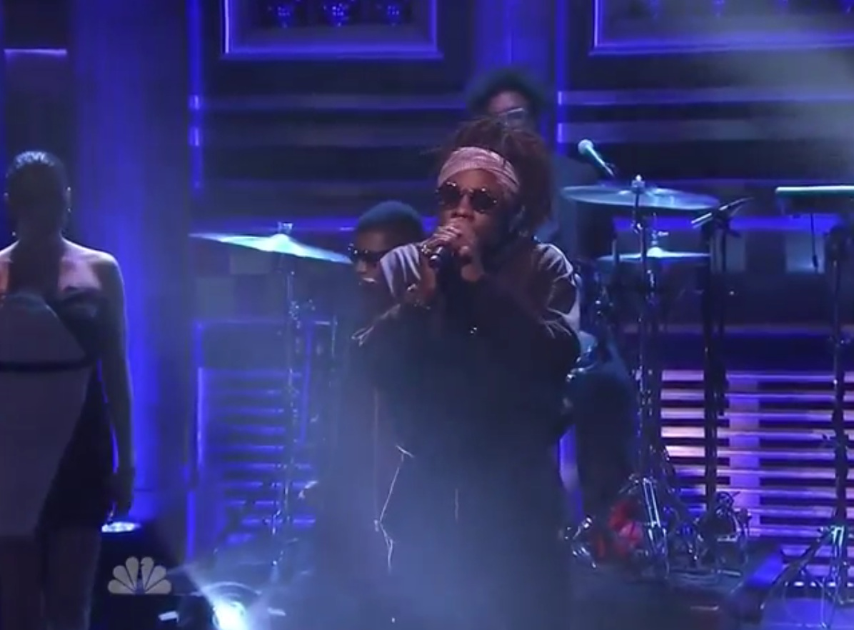 "Wale ""The Girls on Drugs"" (live on 'Fallon')"